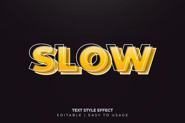 3d-effect voor creatieve tekststijl