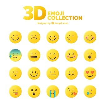 3d emoji collectie