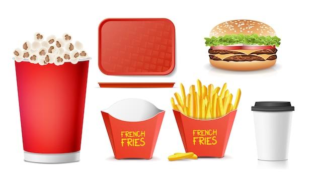 3d fast food