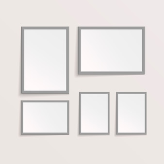 3d-foto- of fotolijstontwerp