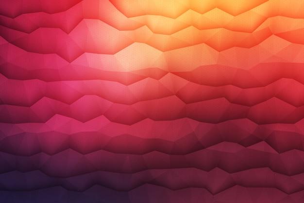 3d geometrische gekleurde abstracte achtergrond