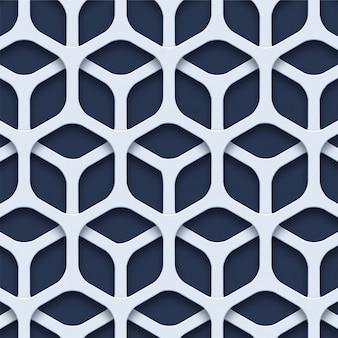 3d geometrische naadloze patroon
