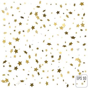 3d-gouden sterren