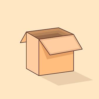 3d isometrische doos
