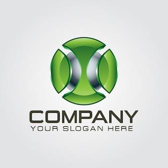 3d letter x logo