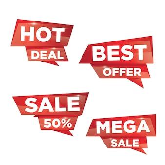 3d lintverkoop voor kleinhandelsmarketing