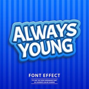 3d-logo spel of label tittekst effect