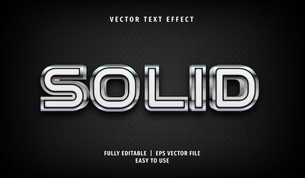 3d metallic effen teksteffect, bewerkbare tekststijl