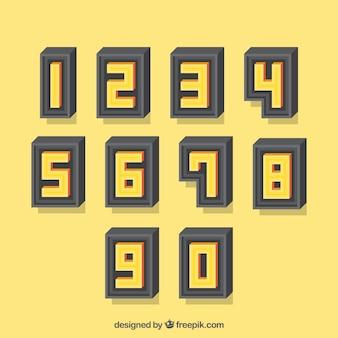 3d-nummerinzameling