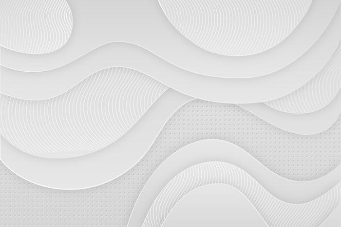 3d papier stijl behang