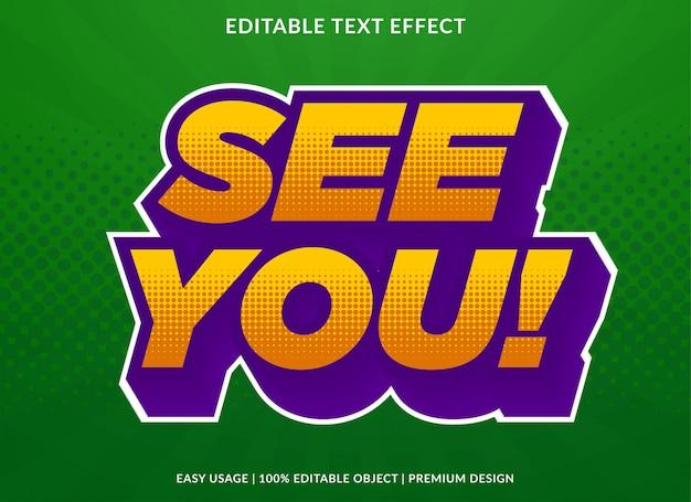 3d pop-art teksteffect sjabloon