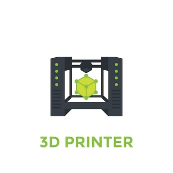 3d-printer illustratie