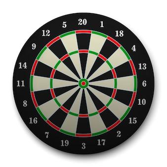 3d-realistische doelwit voor darts.