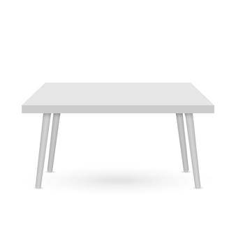 3d-tabel mockup. sjabloon voor objectpresentatie ..
