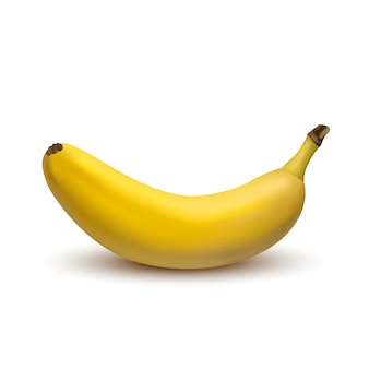 3d-vector banaan geïsoleerd