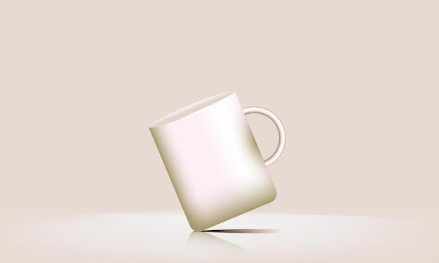 3d-vectorpodium laat uw drankje zien