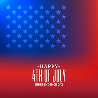 4 juli achtergrond met amerikaanse vlag