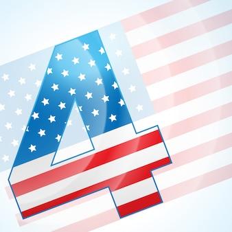 4 juli amerikaanse onafhankelijkheidsdag vector
