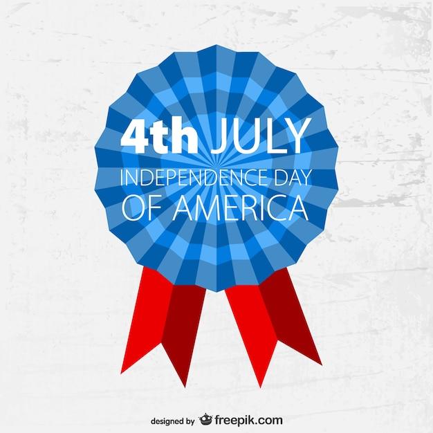 4 juli badge grunge template