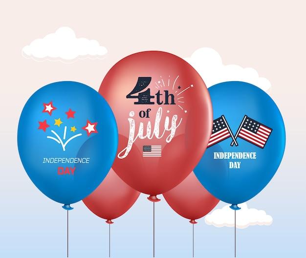 4 juli ballonnen