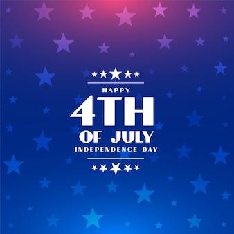 4 juli gelukkige onafhankelijkheidsdag van amerika achtergrond