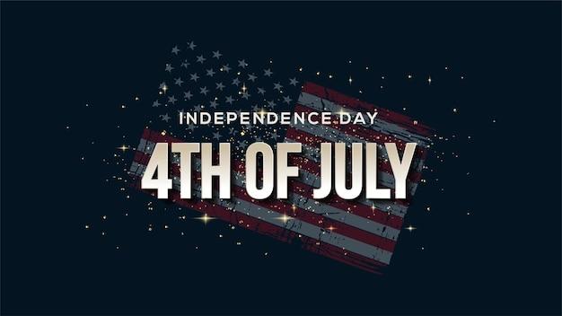 4 juli onafhankelijkheid van de verenigde staten met cijfers