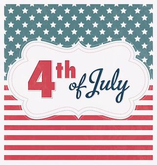 4 juli onafhankelijkheidsdag van de verenigde staten van amerika