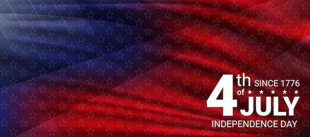 4 juli onafhankelijkheidsdag van de vs. concept independence day vieringen in de verenigde staten van amerika.
