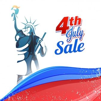 4 juli verkoop