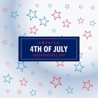 4 juli zilveren achtergrond