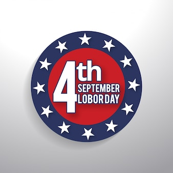 4 september labour day stamp
