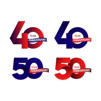 40,50 jarig jubileum