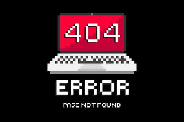 404 8 bits rood