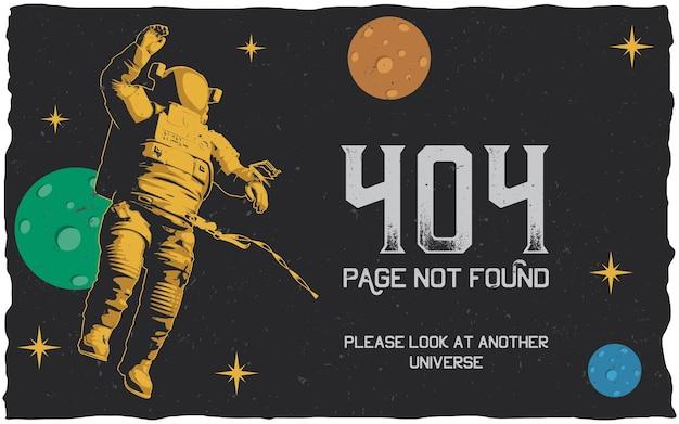 404-foutposter met pagina niet gevonden om te gebruiken voor website
