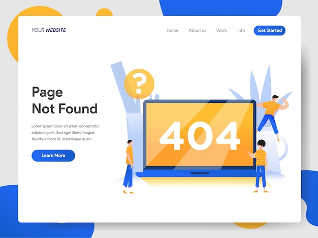 404 pagina niet gevonden concept