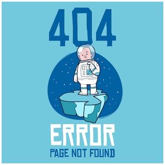 404 pagina niet gevonden fout, een hand getrokken doodle illustratie van internetverbinding probleem.