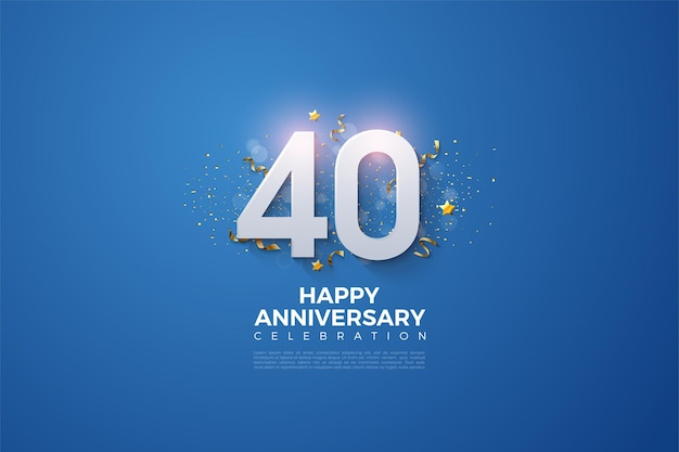 40ste verjaardagsviering.