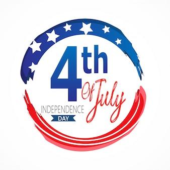 4tindependence day in de verenigde staten van amerika.