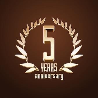 5 jaar jubileum