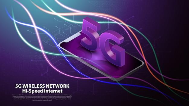 5g communicatie via draadloze netwerktechnologie