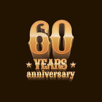 60 jaar verjaardag