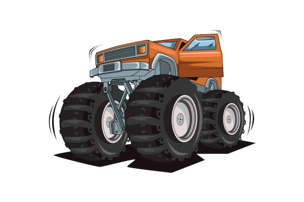 61. monstertruck open de deur