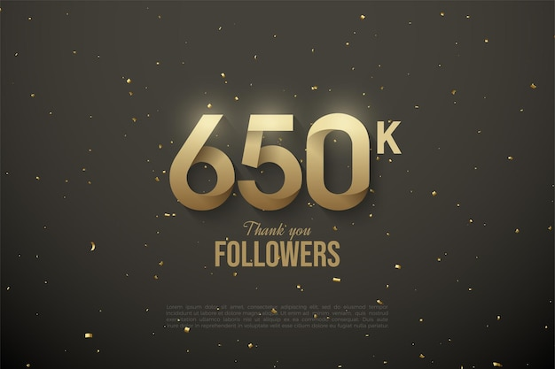 650.000 volgers met patroonnummers