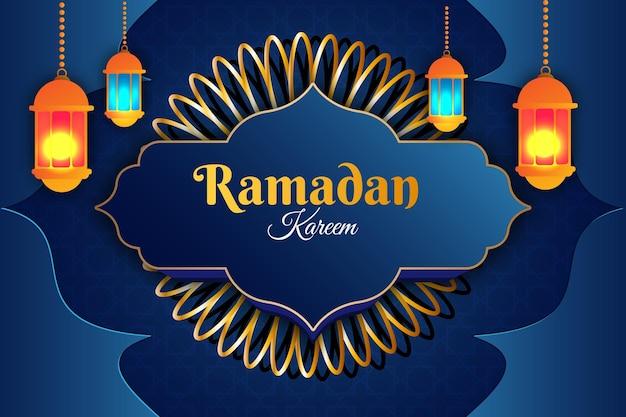 68 luxe eid mubarak platte achtergrondkleur paars en crème