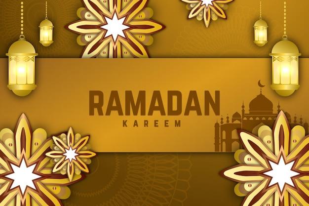 70 ramadan kareem bloem achtergrondkleur blauw wit en groen