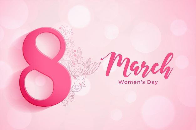 8 maart achtergrond voor de viering van de dag van de vrouw