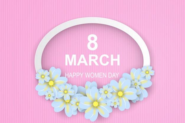8 maart. fijne vrouwendag