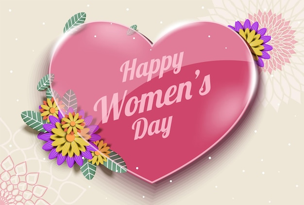 8 maart, gelukkige internationale vrouwendag