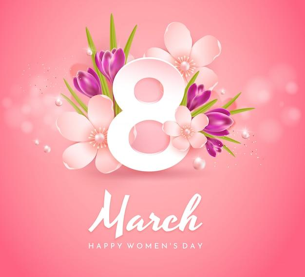 8 maart groeten