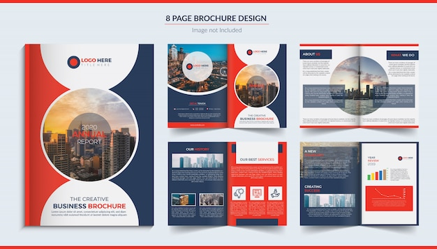 8 pagina's bedrijfsbrochure